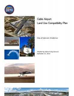 Cable Airport Land Use Compatibility Plan